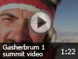 Gasherbrum 1 summit video