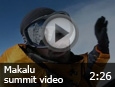 Makalu summit video