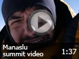 Manaslu summit video