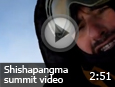Shishapangma (8027m) summit video